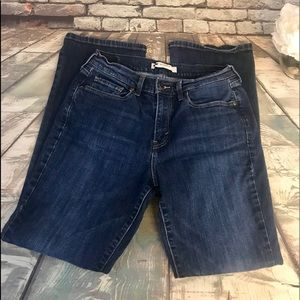 Levi 515 Boot Cut Studded Back Pocket Accent Jeans